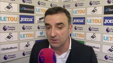 Carvalhal proud after Arsenal win