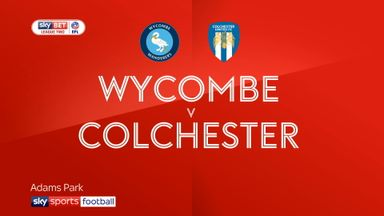 Wycombe 3-1 Colchester