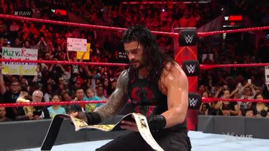 Reigns battles The Miztourage