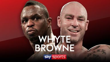 Whyte: Browne is deluded