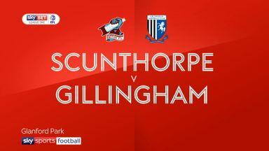Scunthorpe 1-3 Gillingham