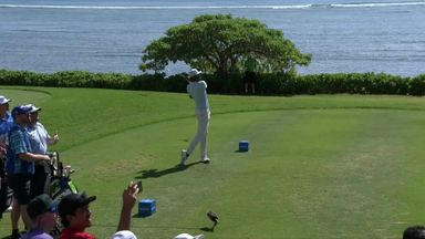 Finau hits ace in Hawaii