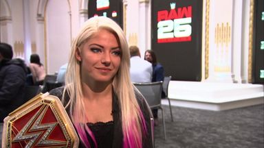 Bliss excited by Raw 25