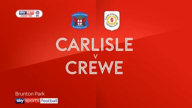 Carlisle 1-0 Crewe