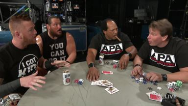 APA poker match crashed by legend