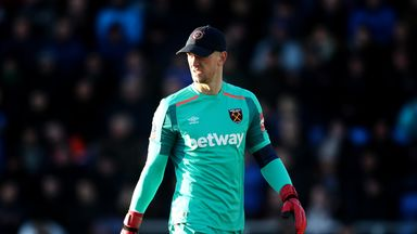 Hart: I was blinded by sun