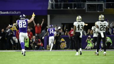 Saints 24-29 Vikings