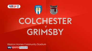 Colchester 1-1 Grimsby