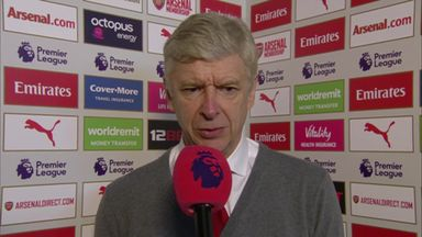 Wenger: We played our real game