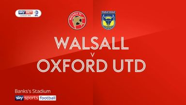 Walsall 2-1 Oxford