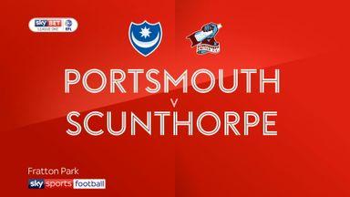 Portsmouth 1-1 Scunthorpe