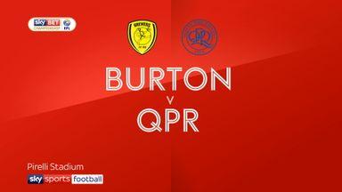Burton 1-3 QPR