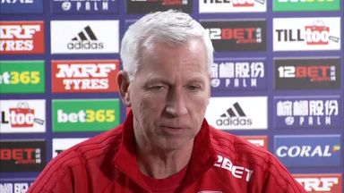 Pardew: No movement on Evans