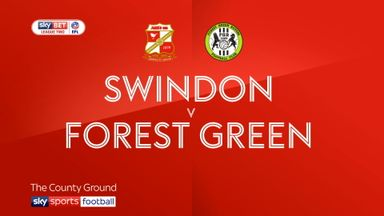 Swindon 1-0 Forest Green