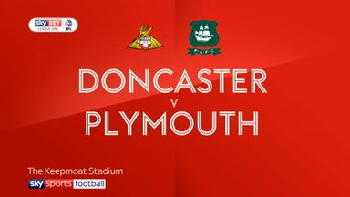 Doncaster 1-1 Plymouth