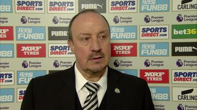 Benitez: We didn't take our chances