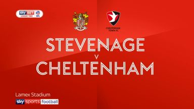 Stevenage 4-1 Cheltenham