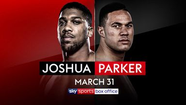 AJ: I can't afford Parker loss