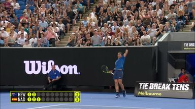 Outstanding Nadal passing shot