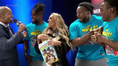 Big E picked to partner Carmella
