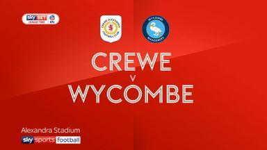 Crewe 2-3 Wycombe