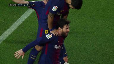Messi free-kick rescues Barca