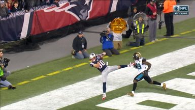 Amendola catch sends Pats to Super Bowl