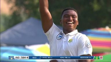 Ngidi's maiden Test wicket