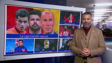 Guillem's La Liga transfer update