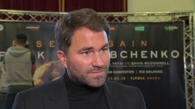 Hearn: AJ wants Fury fight