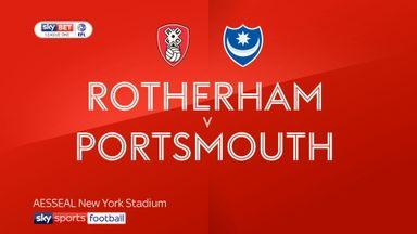 Rotherham 1-0 Portsmouth