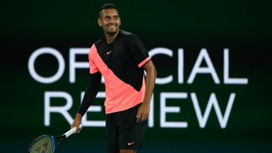 Kyrgios shows great sportsmanship