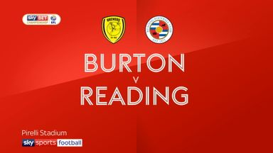 Burton 1-3 Reading