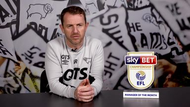 Rowett wins Manager of the Month