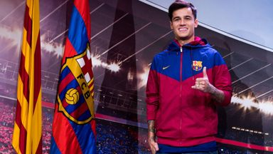 Coutinho set for Barca medical