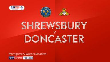 Shrewsbury 2-2 Doncaster