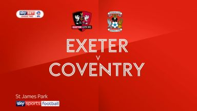 Exeter 1-0 Coventry
