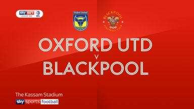 Oxford 1-0 Blackpool