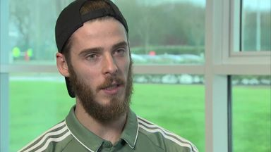 De Gea: Not right time to talk about future