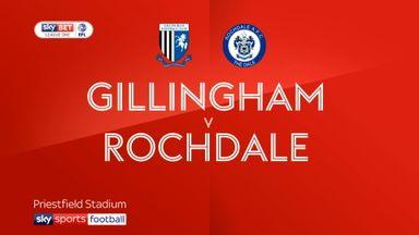 Gillingham 2-1 Rochdale