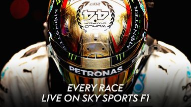 Follow F1 live with Sky!