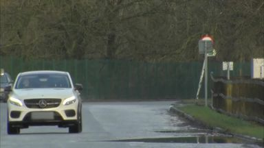 Mkhitaryan at Carrington training base