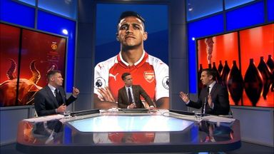Nev & Carra row over Sanchez fee