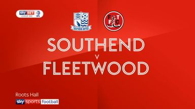 Southend 1-2 Fleetwood