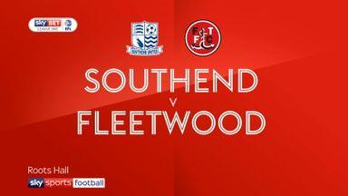 Southend 1-2 Fleetwood