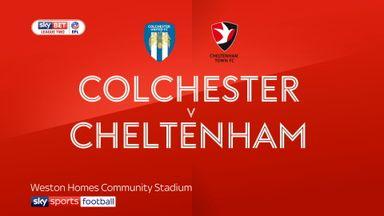 Colchester 1-4 Cheltenham