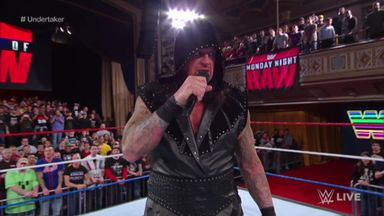 Undertaker addresses Manhattan Center