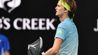 Zverev's frustration boils over!