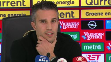 Van Persie reflects on career