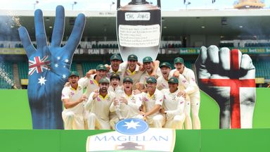 Australia seal 4-0 Ashes series win